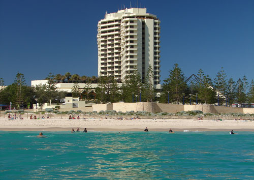 large hotel near Scarborough Beach