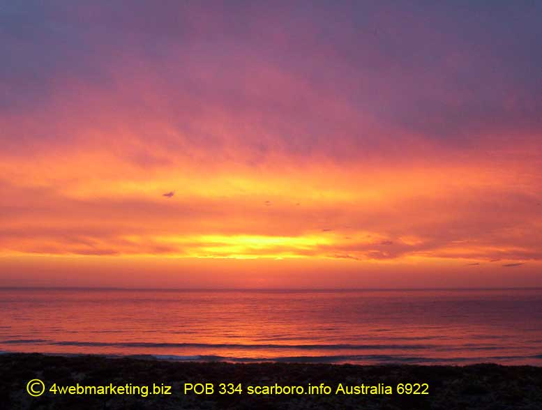 ocean sunset pictures. Indian Ocean Sunset